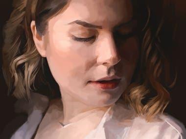 Digital Painting - Portraits