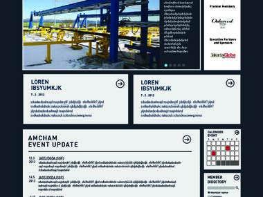 Amcham Indonesia website