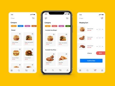 Foods Apps Design