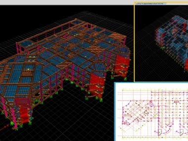 Redesign & Check concrete sections By Csi Etabs