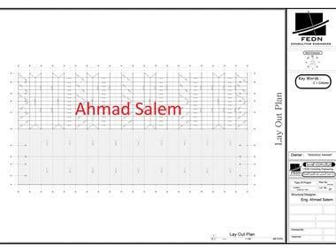 Steel Design (Factory 9000 Square Meters)