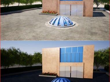 3D rendering work