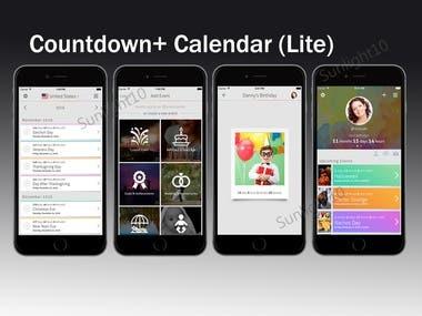 Countdown+ Calendar