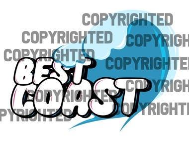 "Logo for ""Best Coast"""