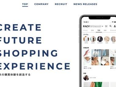 Retail Platform service