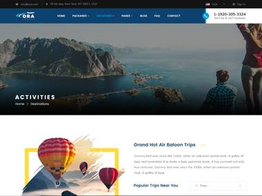 wordpress hotel website