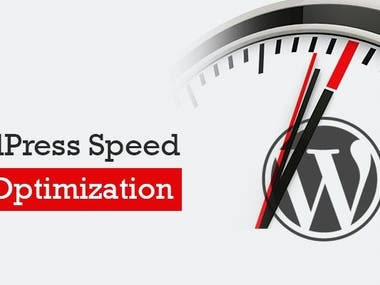 Speed optimization of A website