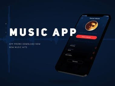Music Website and App