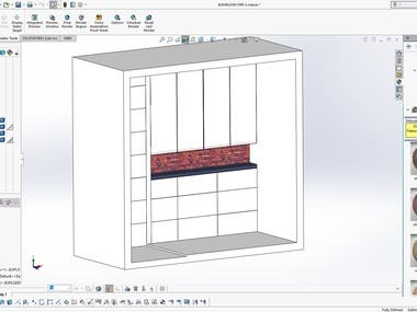 Cabinet design and modeling