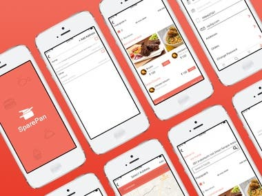 Sparepan - Food delivery application