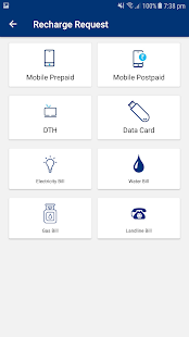 Recharge Mobile Application (Android)