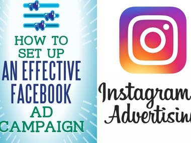 set up fb instagram ads with an amazing ad image