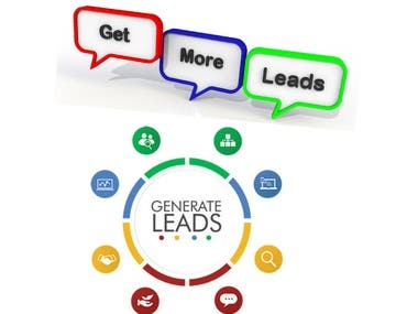 I will do targeted lead generation