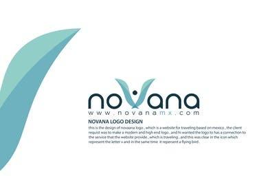 NOVANA Logo design