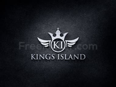 Angel And King Logo Design