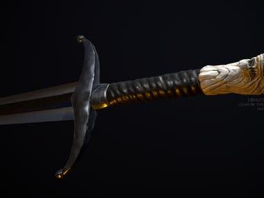 Jon Snow's sword fanart