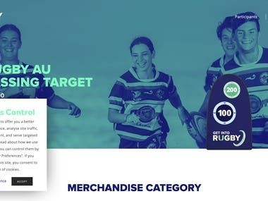 Get Into Rugby - Homepage