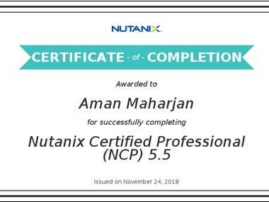 Nutanix Certified Professional