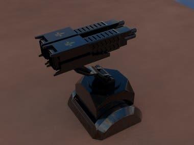 3D gun modelling