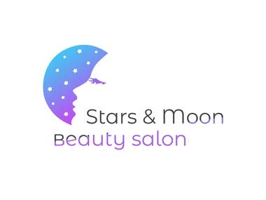Stars & Moon Beauty salon logo