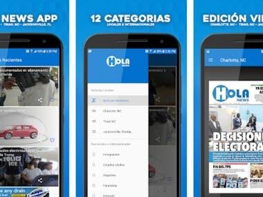 Hola News (Android, iOS)