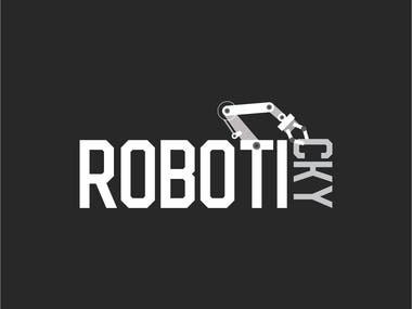 Roboticky Logo