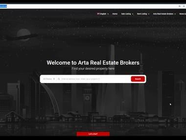website : Real Estate Site