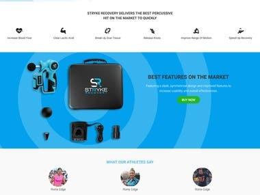 Shopify Website!!