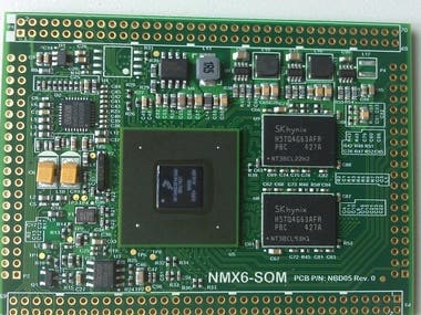 NXP/Freescale i.MX6Q System on Module(SOM)
