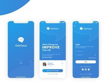 FalaFreud App Design Presentation