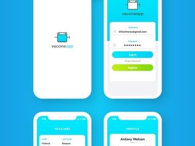 Vaccine App Design