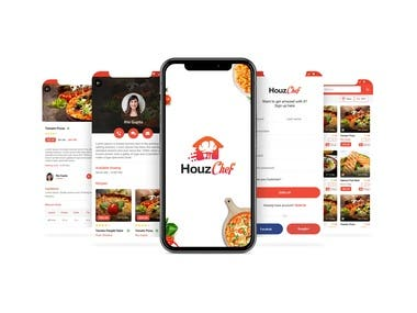 Houzchef - Mobile Food Delivery Application