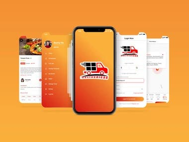 Deliveriess - Mobile Food Delivery Application and Website
