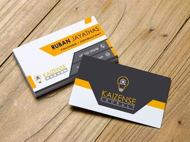 Kaizense Consult Business Card