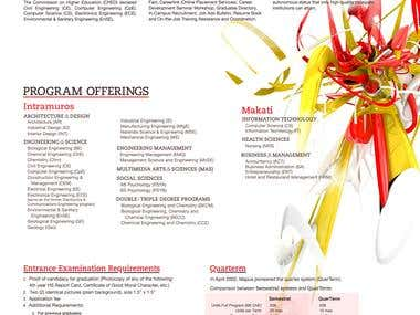 Mapua Design Collaterals 2010-2011