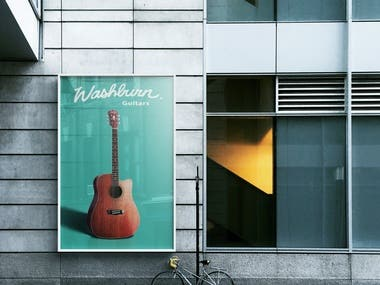 Washburn Guitars design