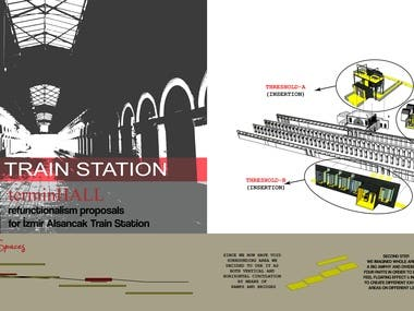 Re-functionalism proposals for Train Station Design