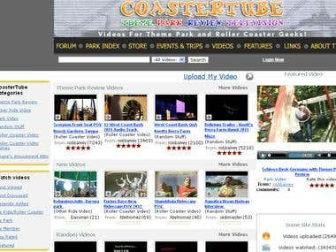 Coastertube Video Website