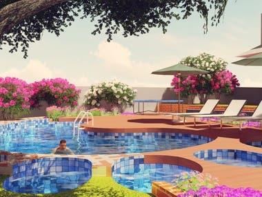 North Carolina Backyard Beautification Landscape Design