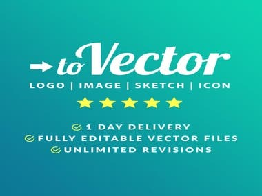 I Will Convert, Redraw, Vector Tracing & Vectorize Your Logo