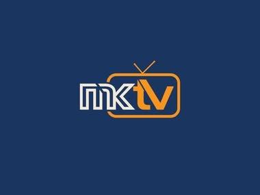 Tv / media logo design