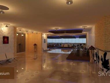 3D Interior Design and Floor Plan