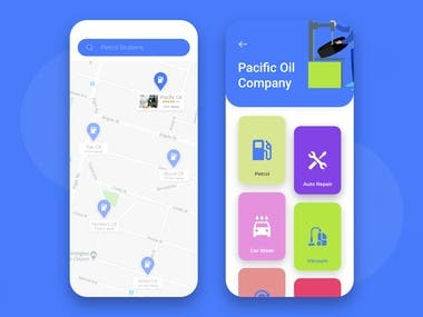 Service mobile app design