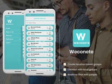 WECONETE - local business with you
