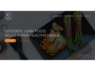 Restaurant project (Omnifood)
