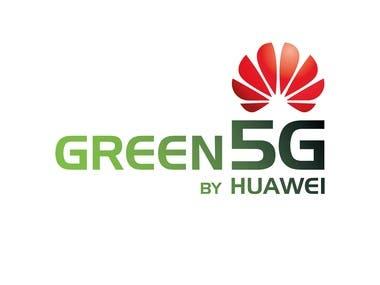 Logo for Huawei 5G Green