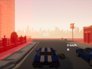 UE4 C++ Basic Racing Game
