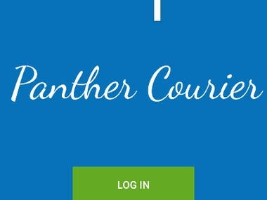 Courier Service Android App