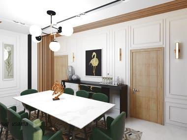 neo-classic apartment