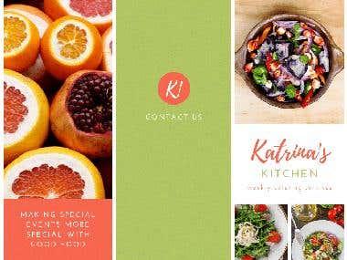 Katrina's Kitchen Brochure